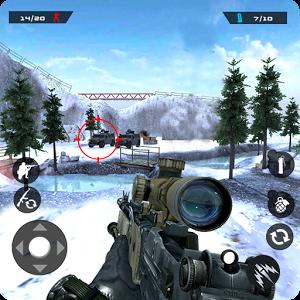 دانلود Winter Mountain Sniper 1.1.8 – بازی تک تیراندازی ۲۰۱۸ اندروید