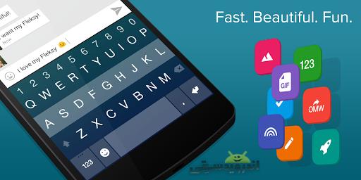 دانلود Fleksy Keyboard 8.3.2   کیبورد سریع و آسان برای اندروید