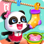 دانلود Baby Panda Gets Organized 8.33.00.01 – بازی آموزشی بچه پاندا برای اندروید