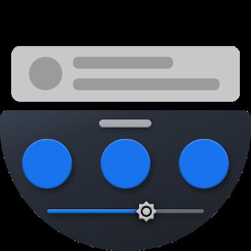 دانلود Bottom Quick Settings 4.4.4 – برنامه تنظیمات سریع دکمه ها اندروید