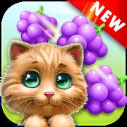 دانلود Cat Match Story Fruit City 5.1 – بازی پازلی رنگارنگ برای اندروید