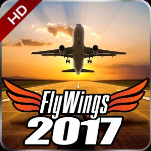 دانلود Flight Simulator FlyWings 2017 3.5.5 – بازی شبیه ساز پرواز اندروید