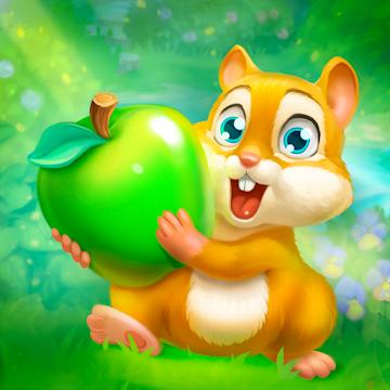 دانلود Garden Pets: Match-3 Dog & Cat 1.35 – بازی پازلی باغ حیوانات خانگی اندروید
