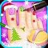 دانلود Holiday Toe Nails SPA 1.0.8 - بازی دخترانه لاک زدن اندروید