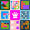 دانلود Puzzledom - classic puzzles all in one