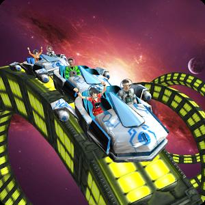 Roller Coaster Simulator Space 1.3 – بازی مهیج ترن هوایی اندروید + مود