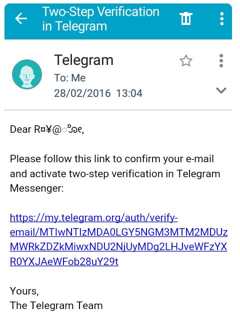 ایجاد رمز دوم تلگرام برای ارتقای امنیت + تصاویر