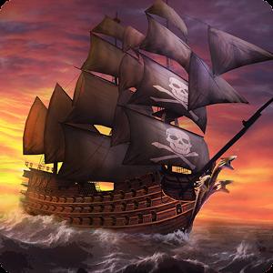 دانلود Ships of Battle Age of Pirates 1.66 – بازی کشتی های دزدان دریایی اندروید