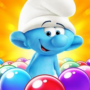 دانلود Smurfs Bubble Story 1.2.4587 – بازی حباب های رنگی اسمورف ها اندروید