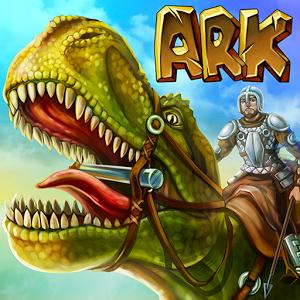 دانلود The Ark of Craft: Dinosaurs Survival Island Series 3.3 – بازی بقا در جزیره ی دایناسورها اندروید