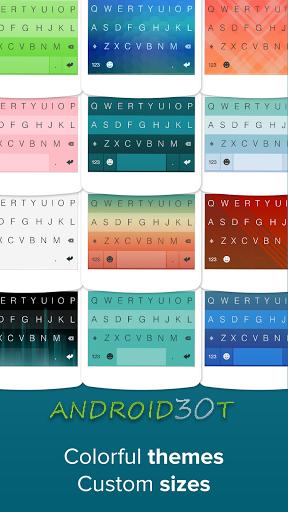 fleksy keyboard - نرم افزار فلکسی کیبورد-Free Google Play