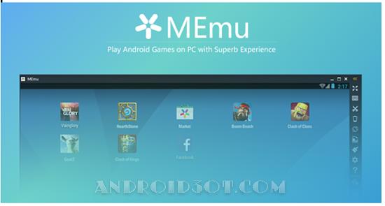 دانلود MEmu 2.9.1.1   اجرای بازی و برنامه اندروید روی کامپیوتر