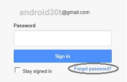 آموزش کامل بازیابی رمز عبور جیمیل در اندروید + تصاویر