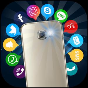 دانلود Flash Alerts on Call & SMS PRO – برنامه هشدار فلاش تماس اندروید