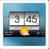 دانلود 3D Flip Clock & World Weather 2.32.02 - برنامه هواشناسی اندروید