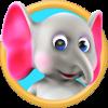 دانلود My Talking Elly 2.1 - بازی مراقبت از فیل کوچولو اندروید!